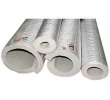 Изоляция для труб фольгированная, стенка 20мм, диаметр 22мм, 2м, Корея (20А-20Т)